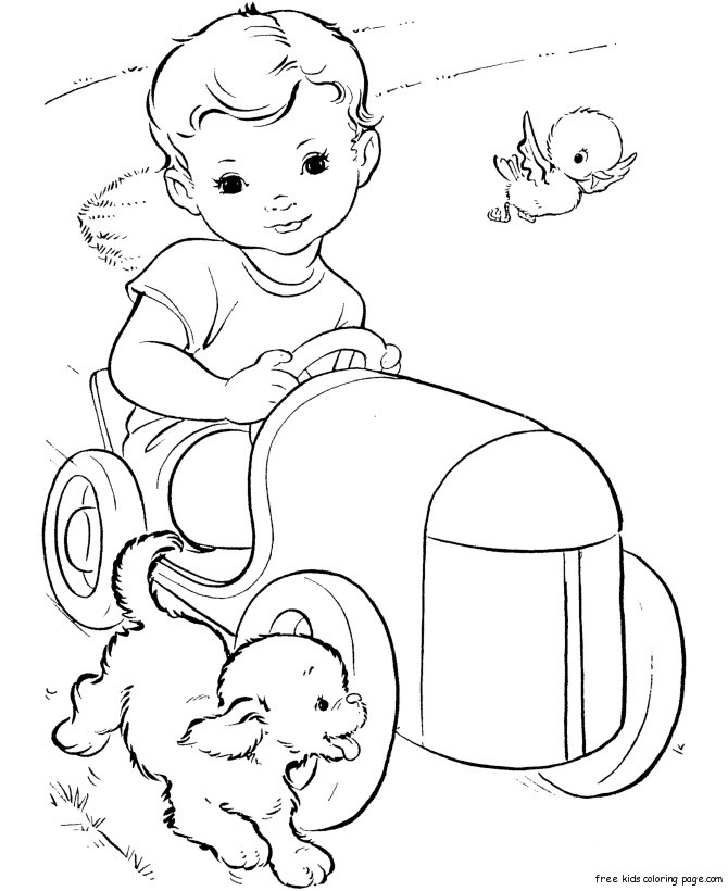toy car coloring pages - photo#16