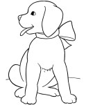 animal coloring pages dog