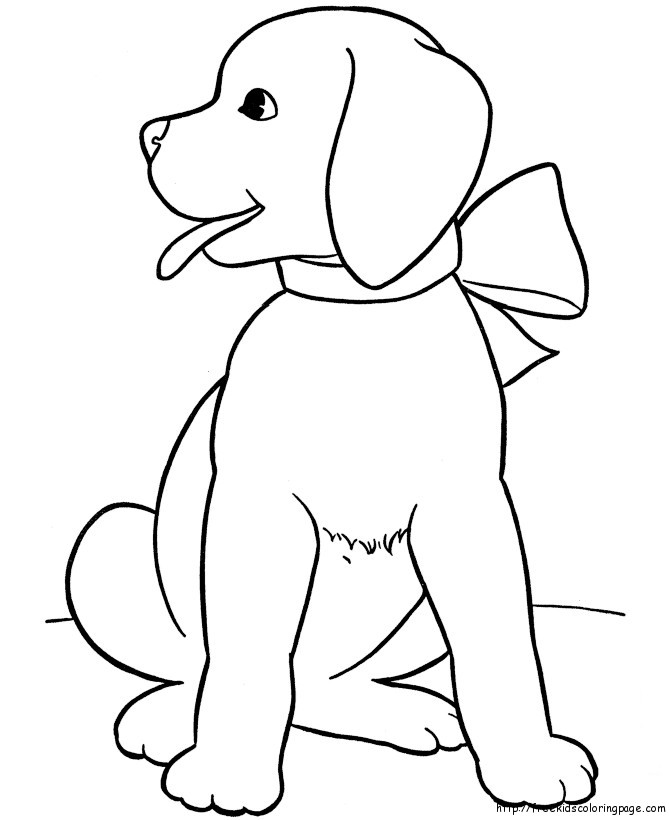 cute dogs coloring pages to print for kidsfree printable coloring pages for kids. Black Bedroom Furniture Sets. Home Design Ideas