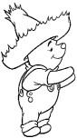 Coloring pages Winnie the Pooh Disney Characters print out