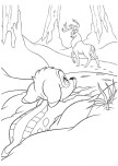 Print out Bambi and The Great Prince coloring page