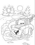 Tow Mater coloring print out