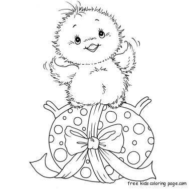 Easter egg basket coloring sheets