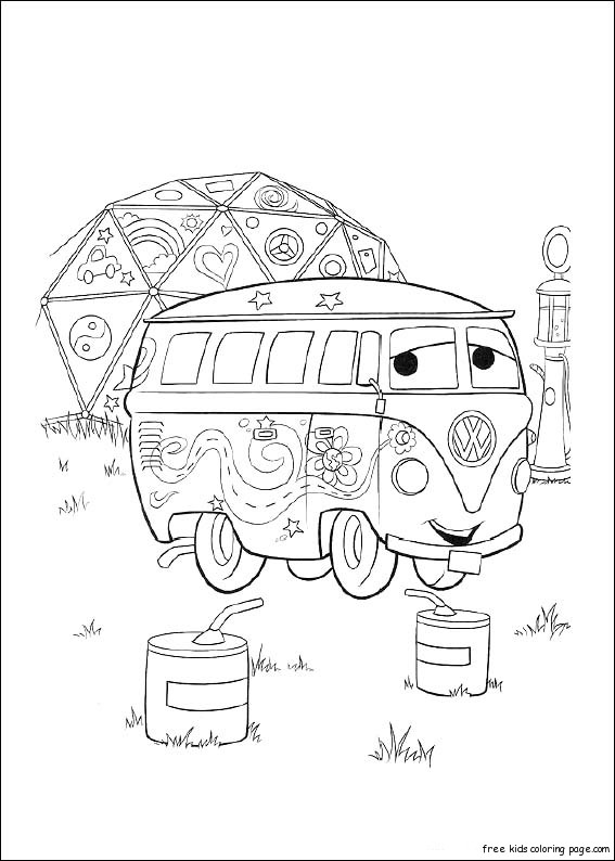 cars 2 coloring pages games for girls | Printable pages disney fillmore car 2 movie for kidsFree ...
