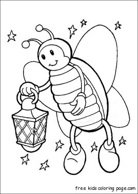 Printable Firefly Coloring Pages Kidsfree Printable Coloring Pages