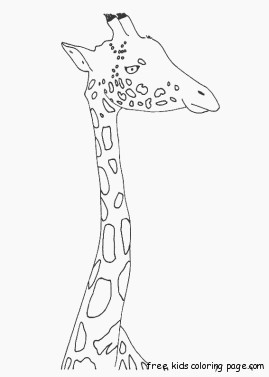 Cat: Animal Tags : Animal, Coloring, Fargelegge Tegninger, Pages, Pictures,  Printable, Zarafa, Zoo Previous Post :Print Out Animal Aardvark Coloring  Page