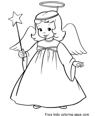 Christmas Star Outline Coloring Coloring Pages