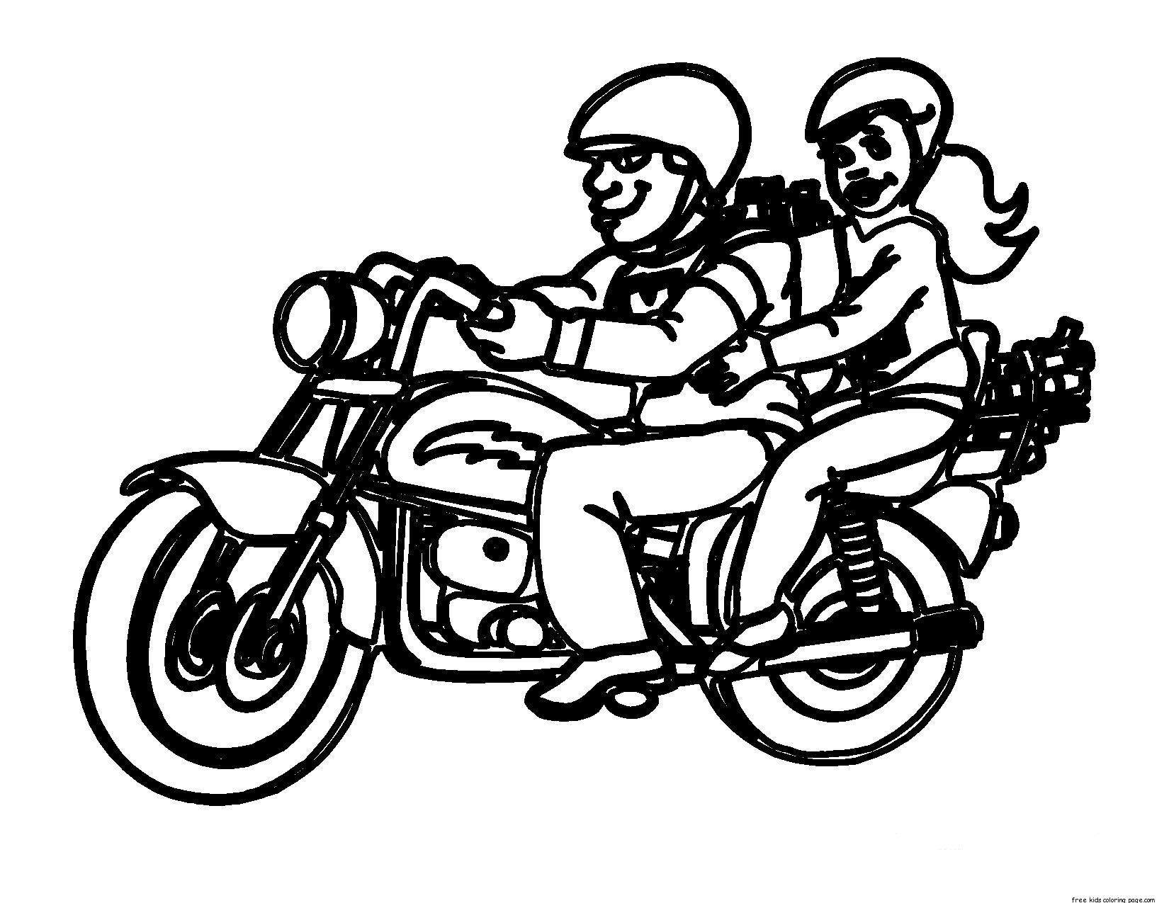 Printable motorcycle rules in california