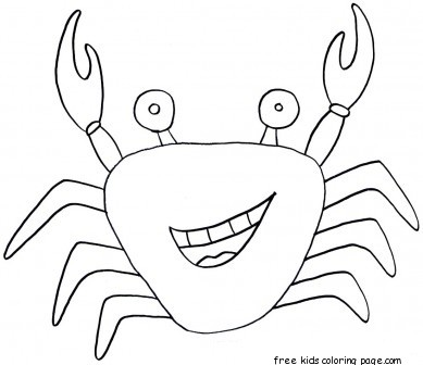 free printable hermit crab coloring