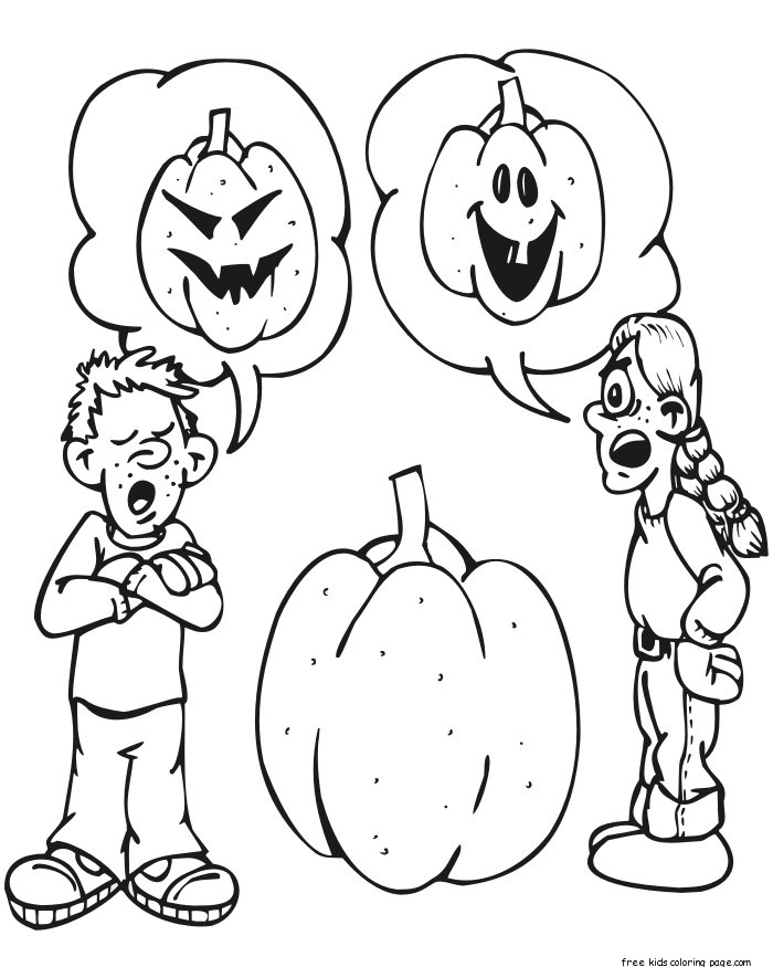 boy halloween coloring pages - halloween pumpkin colouring pages for kids to printfree