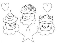Printable birthday cake coloring pages preschoolFree Printable