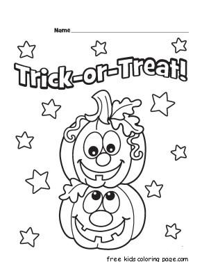 printable trick or treat pumpkins