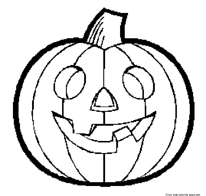 printable scary pumpkin coloring pages - photo#36