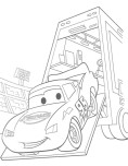 Lightning,McQueen's online coloring page