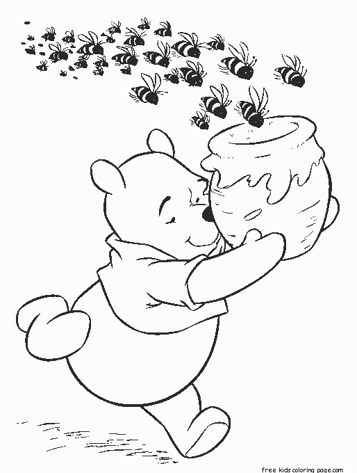 winnie the pooh honey bees cereal