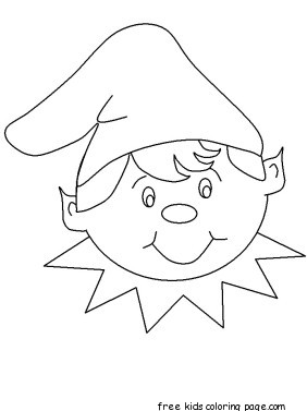 Free Printable Coloring Pages For Kids.