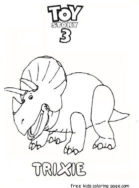 printable toy story 3 trixie coloring pages for kidsfree printable coloring pages for kids
