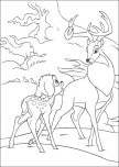 Printable Bambi 2 The Great Prince of the Forest coloring sheet