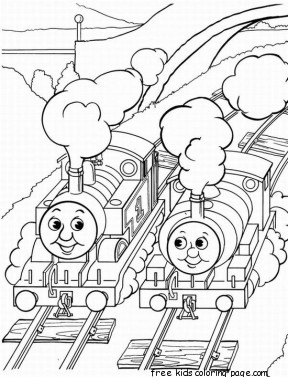 Thomas And Friends Coloring Pages Online For KidsFree Printable