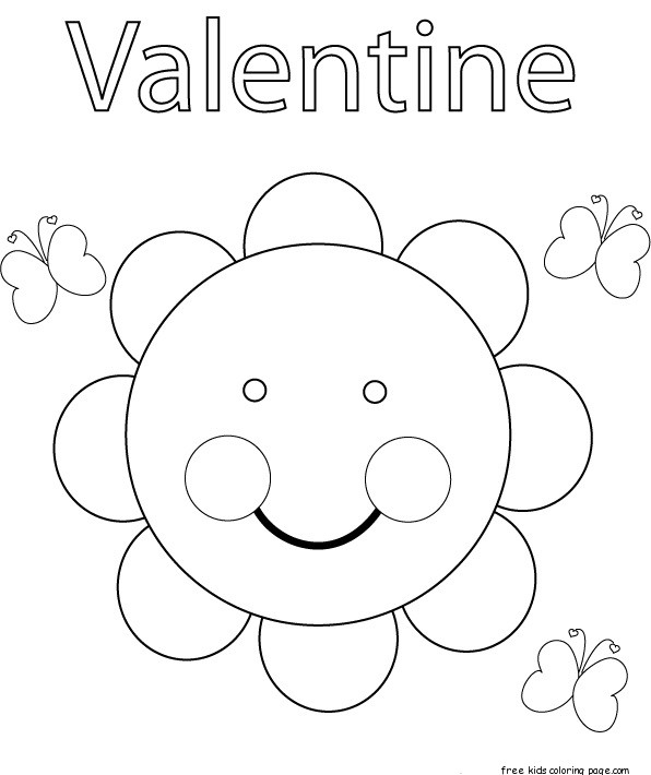Print Out Valentine Sayings For Sunflower Seeds For