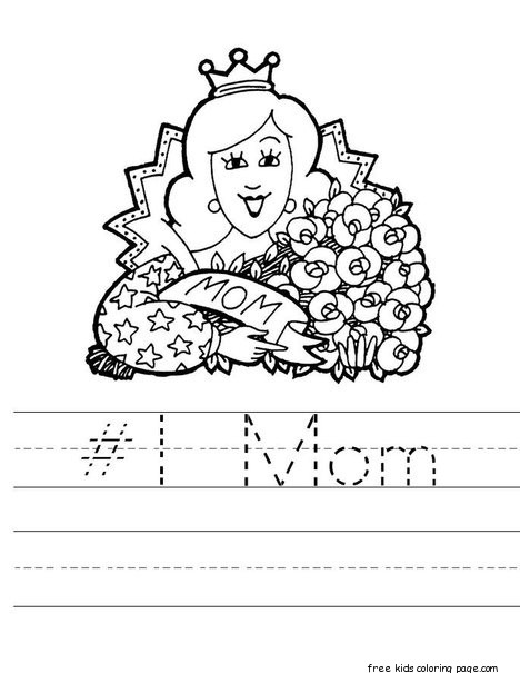 mothers day activities for preschoolers pinterestfree printable coloring pages for kids. Black Bedroom Furniture Sets. Home Design Ideas