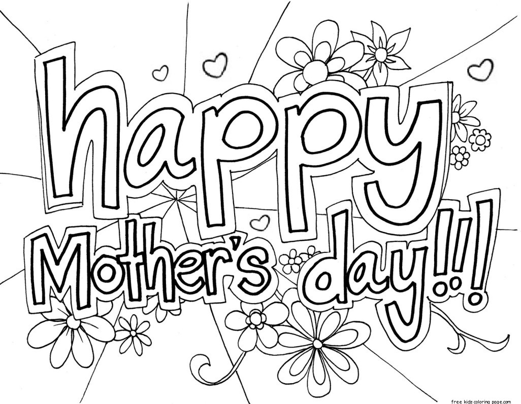 Print out happy mothers day grandma