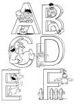preschool kindergarten Alphabet worksheets