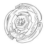download 152 x 152 - Beyblade Coloring Pages