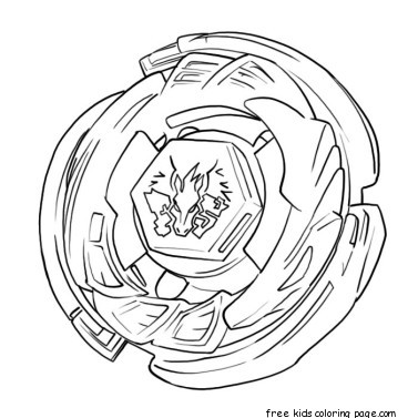 Printable Beyblade Coloring Pages From Metal Fusion on lego sports car