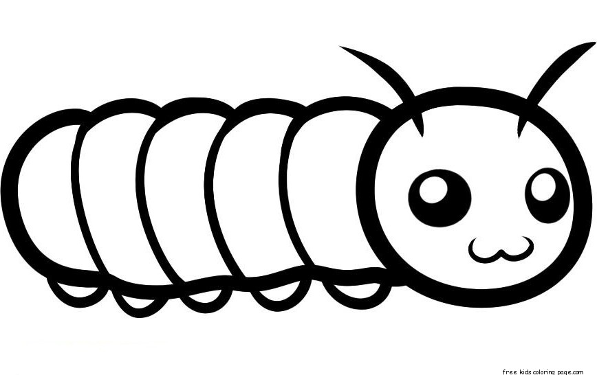Accomplished image throughout caterpillar printable