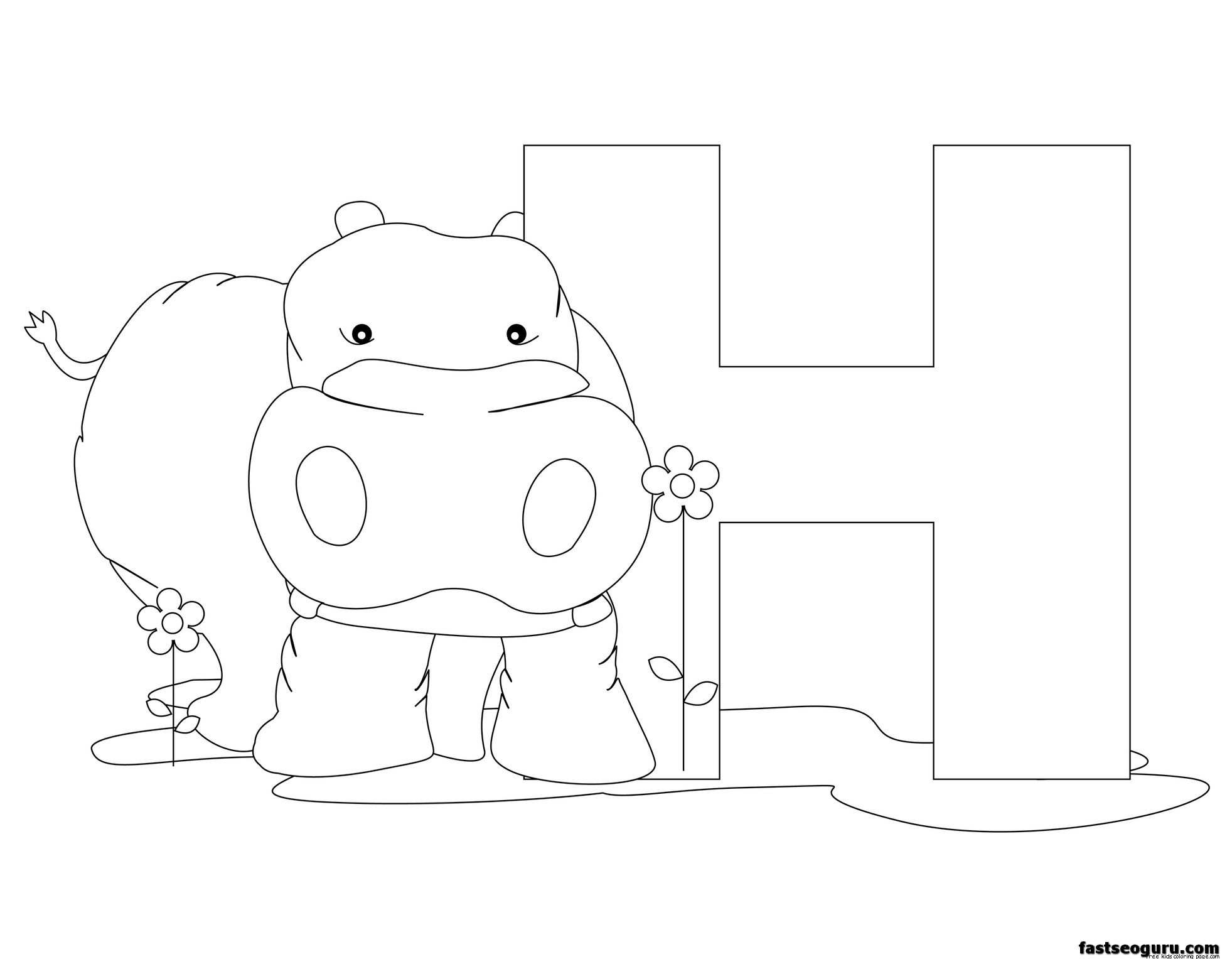 Letter N Animals Coloring Pages And Printable Activities