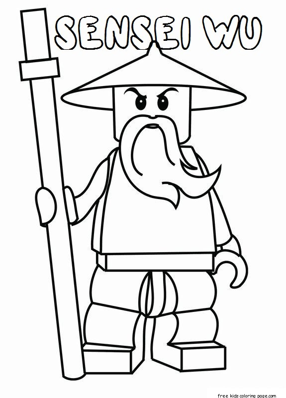 Ninjago Sensei Garmadon Coloring Pages Coloring Pages Lego Ninjago Colouring Pages To Print