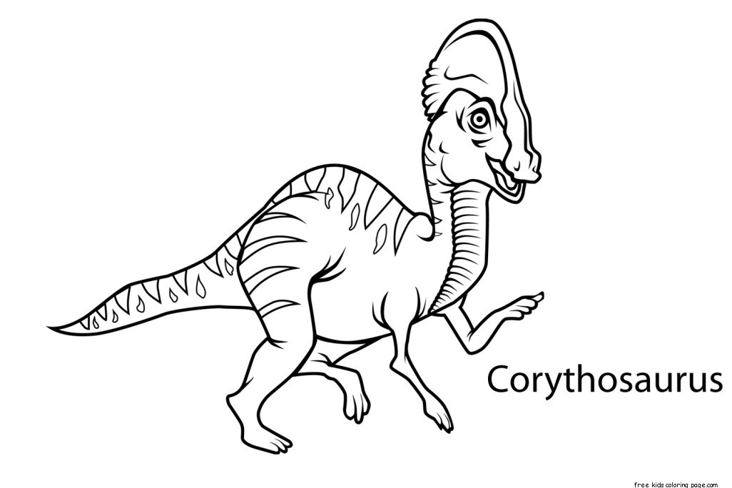 oranges coloring page preschool dinosaur coloring worksheets corythosaurusfree 2576