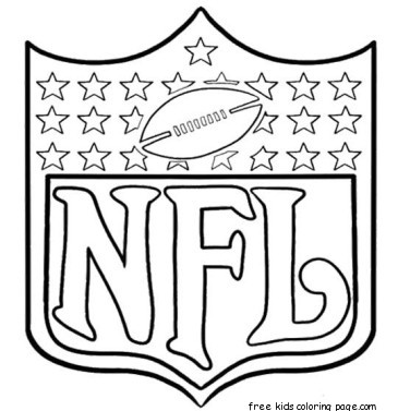 Printable nfl football coloring pages for kidsFree Printable