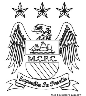 Printable manchester city logo