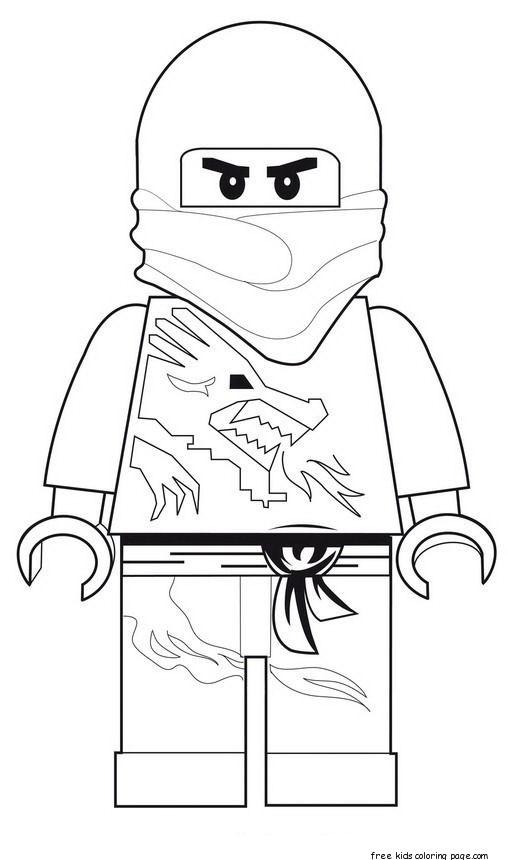 lego ninjago printable coloring