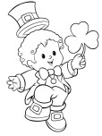 Printable St. Patrick_s Day Coloring Pages