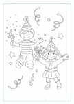 Printable new year coloring sheet kids_1