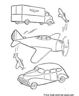 military car and airplane free printable coloring pages for kids free printable coloring pages. Black Bedroom Furniture Sets. Home Design Ideas