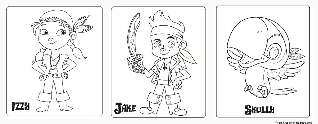 Neverland Pirates coloring - Free Printable Coloring Pages ...  Neverland Pirat...