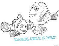 Print out movie finding dory coloring pages for kids