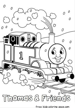 thomas train coloring book pages - Free Printable Coloring ...